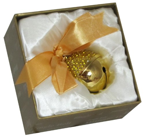 Gold Blingle Bell Ornament Sleigh Bells Ornament Collection