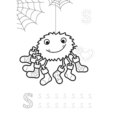 Orchard Toys ABC Sticker Colouring Book: Toys & Games