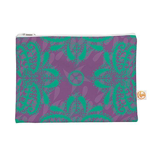 Kess eigene 12,5x 21,6cm Nandita Singh Motiven in grün Alles Tasche–Lila Blumen