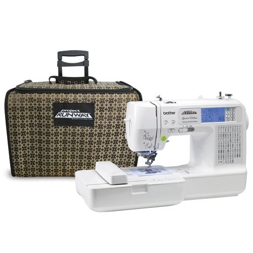Brother LB6800 Computerized Sewing and Embroidery Machine