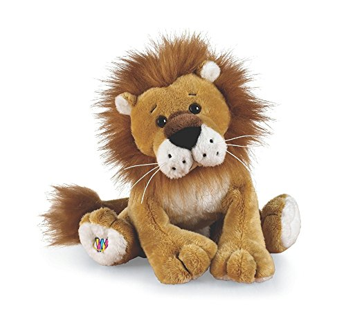 Webkinz Caramel Lion with Trading Cards