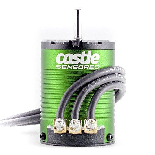 Castle Creations 1406-6900KV Motor 4-Pole Sensored Brushless Vehicle (Brushless 1 10 Scale Rc Truck)