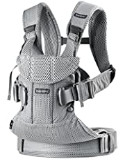 BABYBJÖRN New Baby Carrier One Air 2019 Edition, Mesh, Silver, 3.31 pounds