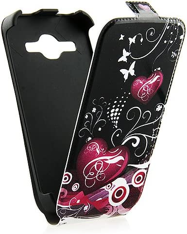 Étui Housse en cuir pour Samsung Galaxy Core Plus G3500 G3502 SM-G350 avec fermeture aimantée pratique Flip à rabat Coque #7