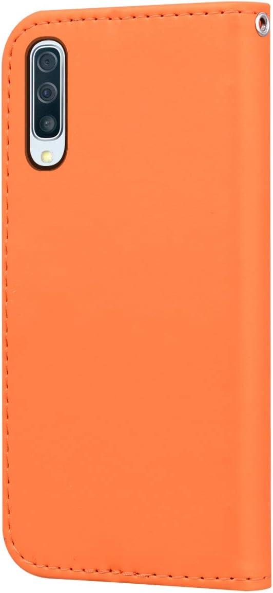 Surakey Etui Coque pour Samsung Galaxy A50//A30S,Protection Housse Etui /à Rabat en Cuir PU Portefeuille Livre,Dessin Anim/é Animaux Flip Case Cover Fermeture Magn/étique avec Fonction Stand,Noir
