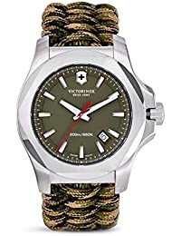 I.N.O.X Olive Dial Swiss Quartz Mens Watch 241727
