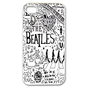 The Beatles CUSTOM Phone Case for iPhone 4,4S LMc-63388 at