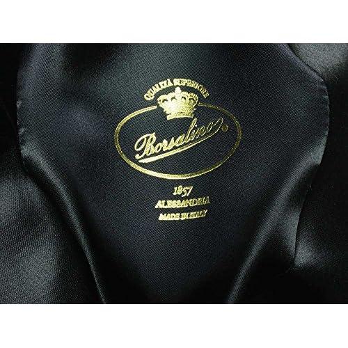 Borsalino Art. 114336 - Sombrero Fedora para hombre - negro 85% OFF ... 8d023ef16f7