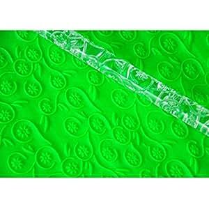 FOUR-C Cake Decoration Sugarpaste Rolling Pin for Fondant Decorating Color Transparent