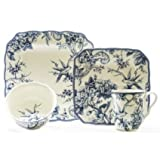 Adelaide Blue 16-piece Dinnerware Set Casual, Formal Review