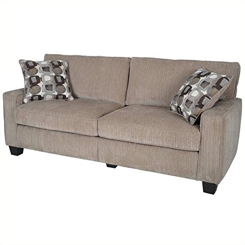 Serta RTA Palisades Collection 78″ Sofa in Flagstone Beige