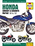 Honda CB600F and CB600FS Hornet Service and Repair Manual: 1998 to 2002 (Haynes Service and Repair Manuals 3915) by Mather, Phil published by Haynes Manuals Inc (2002)