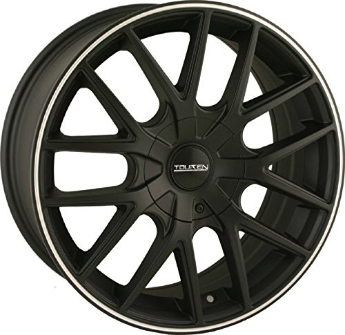 Touren TR60 16 Black Wheel / Rim 5×100 & 5×4.5 with a 42mm Offset and a 72.62 Hub Bore. Partnumber 3260-6703MB