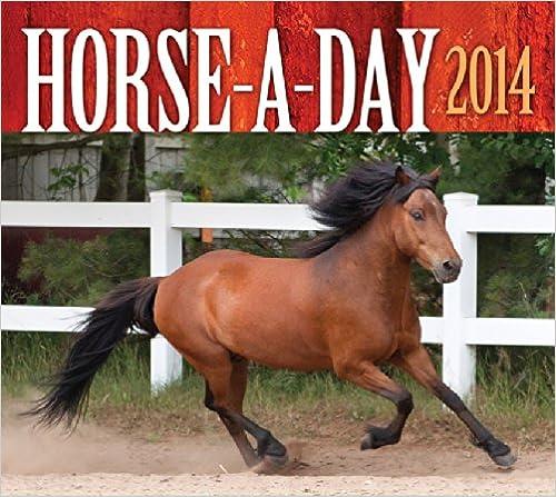 Scarica facili libri audio in inglese Horse-A-Day 2014 iBook