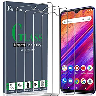 Ferilinso Screen Protector for BLU G9, [4 Pack] Tempered Glass Screen Protector for BLU G9 Screen Protector