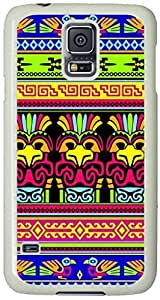 Animals-Abstract-Mexican-Color Samsung Galaxy S5 Case with White Skin