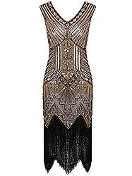 Women's Sequin Art Embellished Cocktail Dress