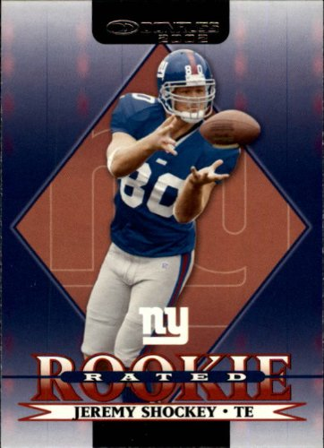 2002 Donruss Football Rookie Card #265 Jeremy Shockey from Donruss Football Rookie Card