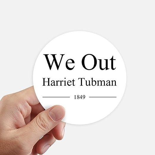 Amazon.com: DIYthinker We Out Harriet Tubman Quotes Round ...