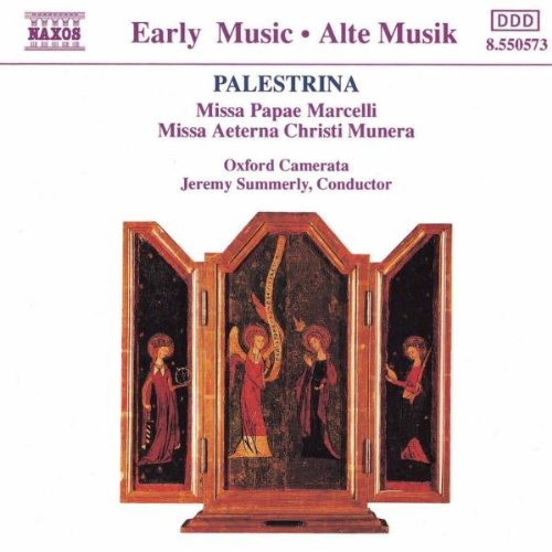 (Palestrina: Missa Papae Marcelli, Missa Aeterna)
