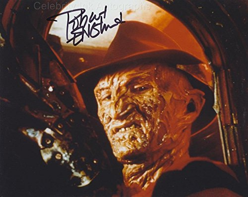 ROBERT ENGLUND as Freddy Krueger – Nightmare On Elm Street GENUINE AUTOGRAPH