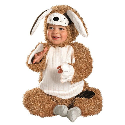 Puppy Halloween Costumes For Kids (Precious Puppy Costume, Gold, Small(12-18 months))