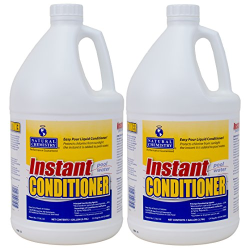 Natural Chemistry Liquid Swimming Pool Stabilizer and Conditioner - 2 Gallons