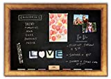 Magnetic Chalkboard with Antique Gold Frame