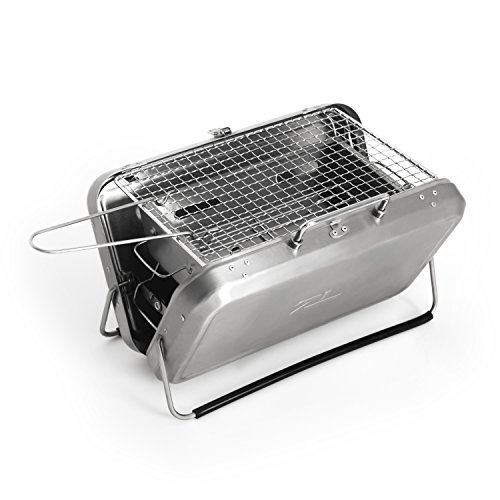 Mini Stainless Steel Charcoal BBQ Grill Review