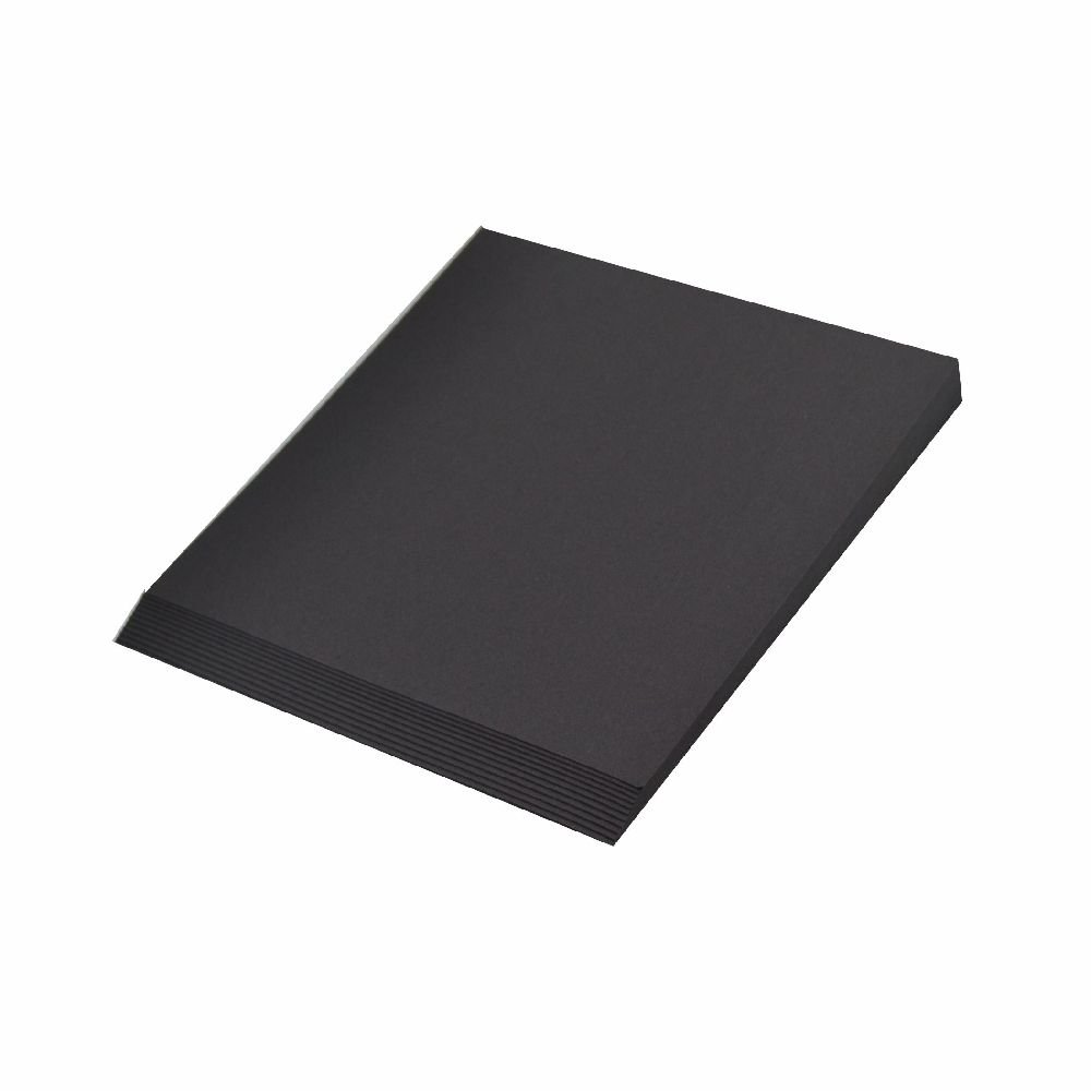 Creleo Fotokarton 300 g, A4 10 Blatt, schwarz Trendstyle Retail 4250827909949