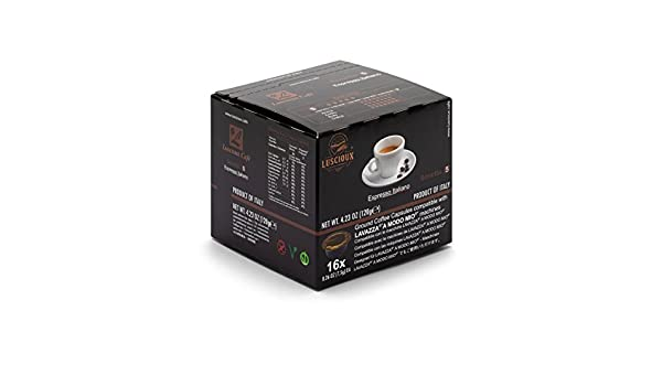 LUSCIOUX Sonetto - Lavazza A Modo Mio Compatible Coffee Capsules | Pack of 12 [Total 192 capsules]: Amazon.com: Grocery & Gourmet Food