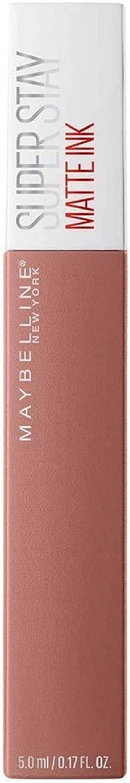 Maybelline New York - Superstay Matte Ink, Pintalabios Mate de Larga Duración, Tono 65 Seductress