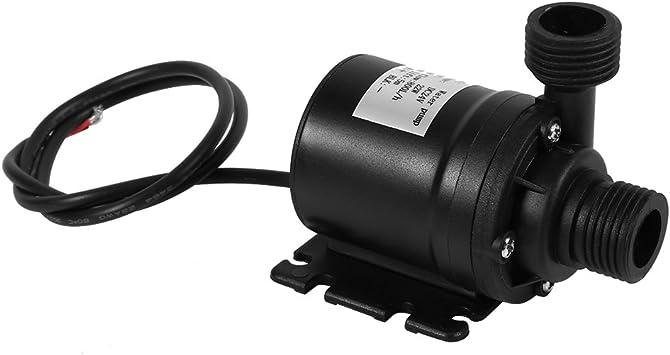 Dc 24v Solarwasserzirkulationspumpe Ruhiger Bürstenloser Motor Tauchwasserpumpe Baumarkt