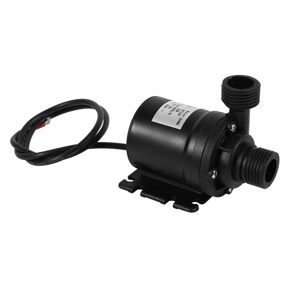 DC 24V Solar Water Circulation Pump Quiet Brushless Motor Submersible Water Pump