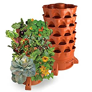Garden tower 2 the composting 50 plant organic container garden patio lawn - Best compost for flower pots solutions within reach ...
