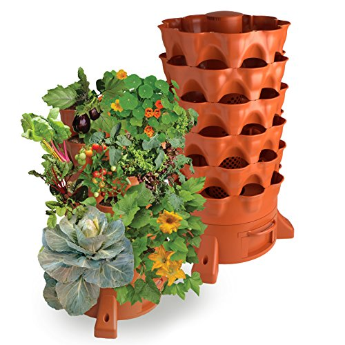 Garden Tower 2 - The Composting 50 Plant Organic Container Garden by Garden Tower Project
