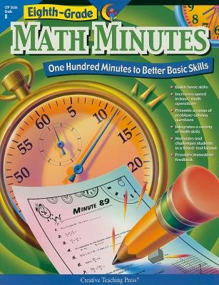 Eight-Grade Math Minutes( One Hundred Minutes to Better Basic Skills)[8 GRADE MATH MINUTES][Paperback]