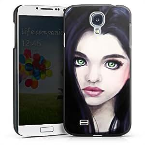 Carcasa Design Funda para Samsung Galaxy S4 i9500 / LTE i9505 HardCase black - Portrait
