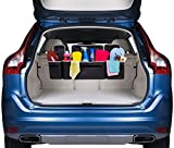 2 in 1 Trunk and Backseat Organizer by Kodiak - Space Saving - High Capacity Auto Back Seat and Trunk Storage - Heavy Duty Design - Fits Any Car or SUV Using Fully Adjustable Straps