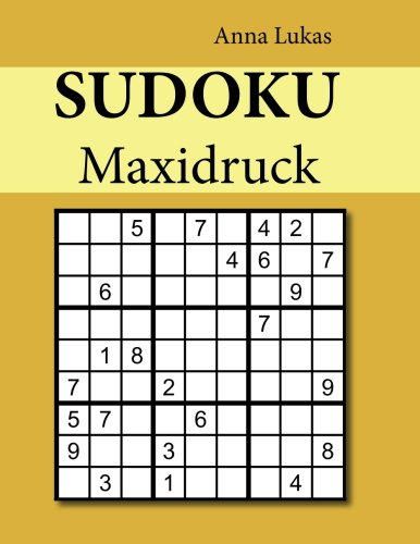 Sudoku Maxidruck
