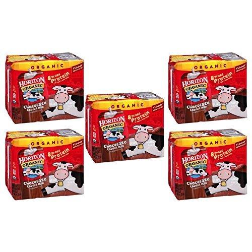 Horizon Organic Chocolate Lowfat Milk 8 fl. oz., 6 count (Pack of 5)