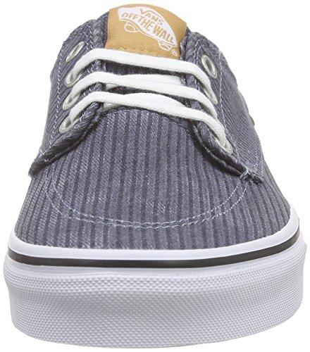 Herringbone Adulte Gris folkstone Basses Sneakers washed Brigata Vans Gray Mixte waqBBC