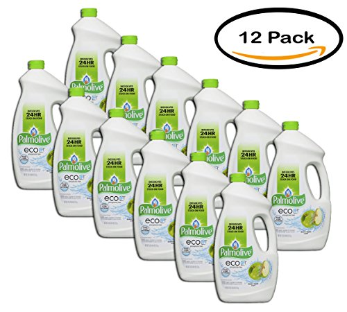 PACK OF 12 - Palmolive eco, Gel Dish Washer Detergent, Citrus Apple, 75 Fluid Ounce