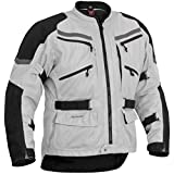 Firstgear Adventure Mesh Silver/Black Jacket, M - Tall
