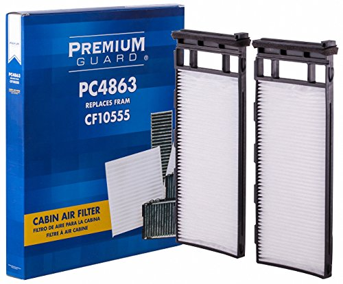 PG Cabin Air Filter PC4863 | Fits 1999-02 Infiniti G20, 1998-03 QX4, 1998-01 Nissan Altima, 2000-04 ()
