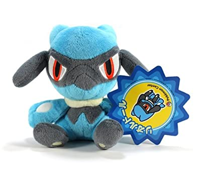 Official Nintendo Pokemon Center Plush Toy - 6 Riolu Japanese Import by Japan VideoGames