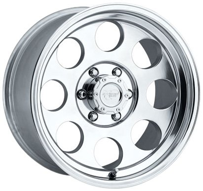 Pro Comp Alloys Series 69 Wheel with Polished Finish (16x10''/5x139.7mm) by Pro Comp Alloys (Image #2)
