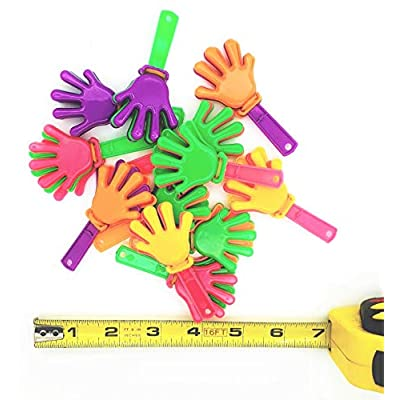 Mini Hand Clappers/Clakkers (24 Pack) 3