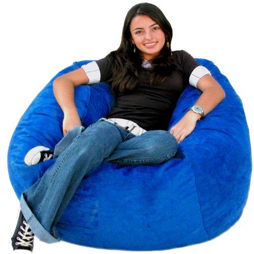 Kids Royal Chair (Cozy Sack 3-Feet Bean Bag Chair, Medium, Royal)