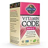Garden of Life Vegan Vitamin B12 1000 mcg - Vitamin Code Raw B12 Whole Food Supplement, 30 Capsules
